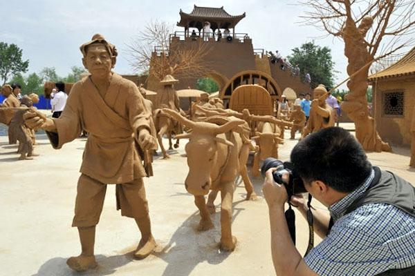 глиняный город в Таншане