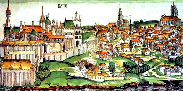 средневековый Будапешт