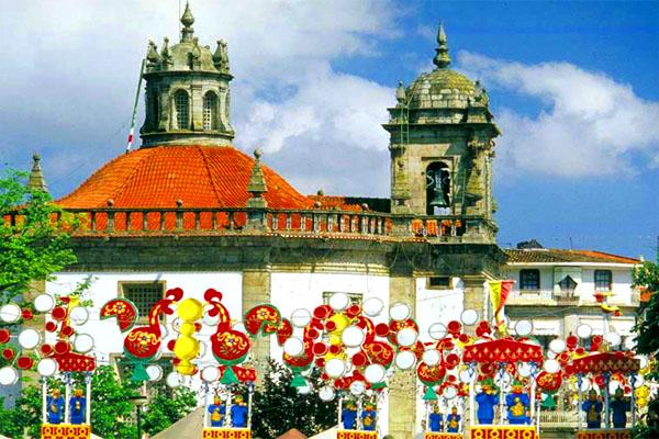 городок Барселуш в Португалии