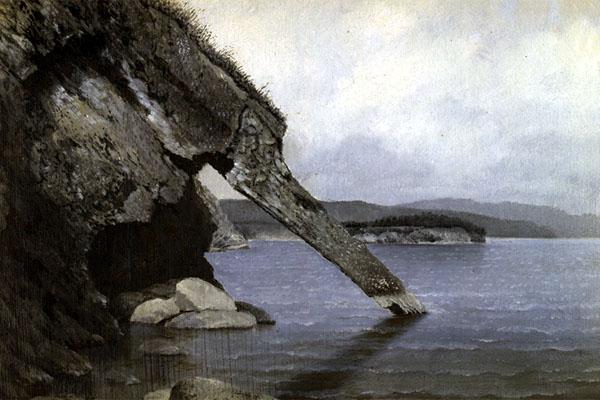 скала Хобот, Байкал