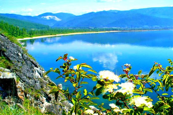 Вода самого древнего озера (живая фотография)