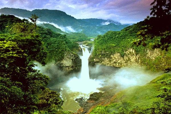 Виртуальный водопад