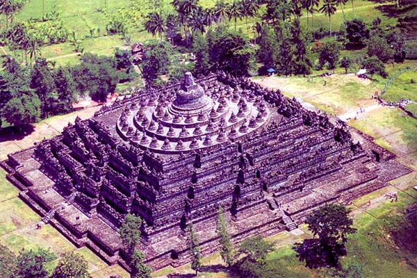 храм Боробудур, остров Ява