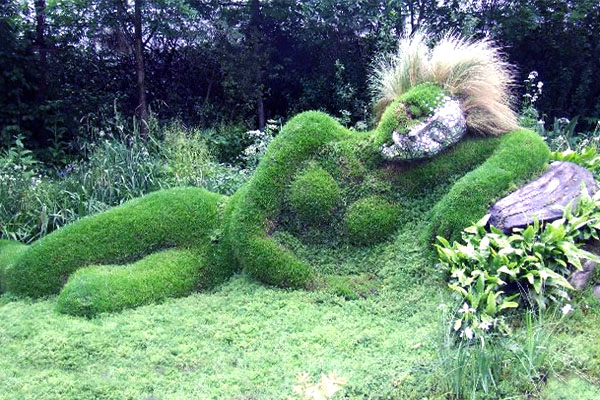 Затерянные сады Хэлиган