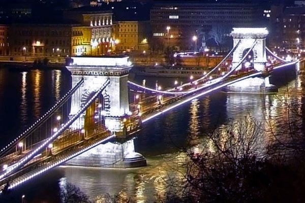 Цепной мост Сечени: соединяя Буду с Пештом…
