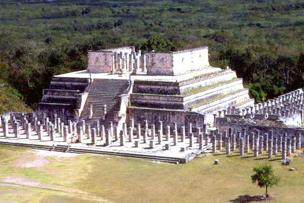 храм воинов Чичен-Ицы