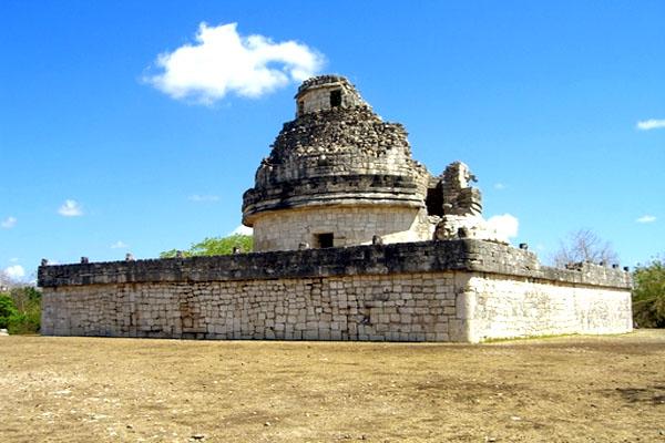 обсерватория майя в Чичен-Ица