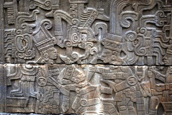 человеческие жертвоприношения в барельефах Эль-Тахина
