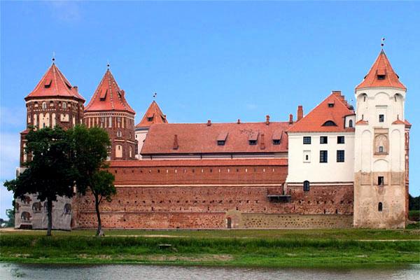 Мирский замок в Белоруссии