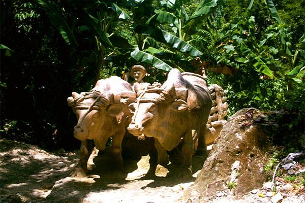 каменный зоопарк на Кубе